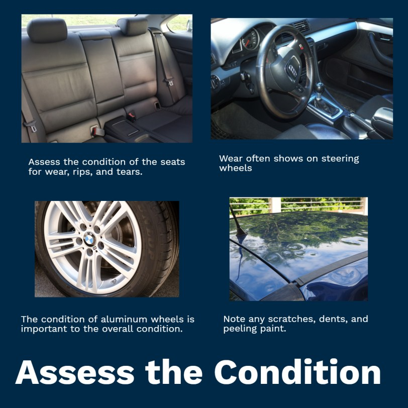 How to Assess vehicle condition