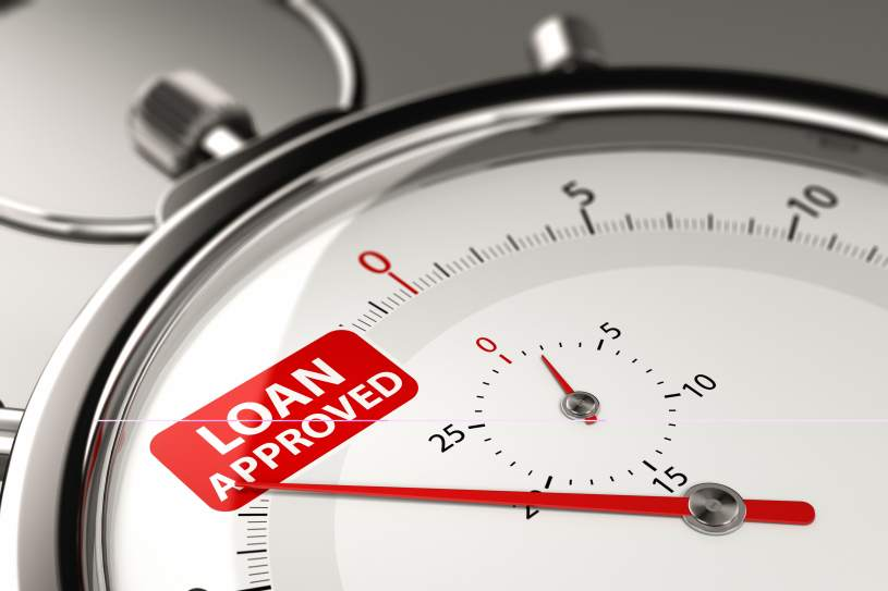 Loan approved on a stopwatch