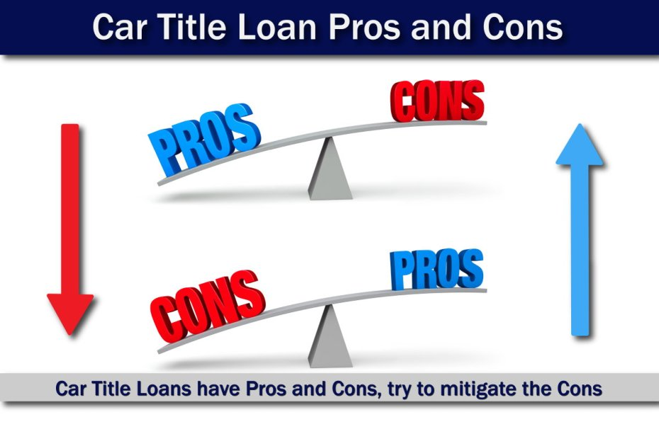 Car Title Loan Pros and Cons