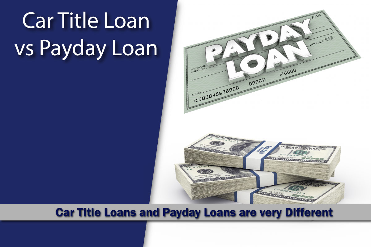 Car Title Loan Versus Payday Loan Fast Title Lenders