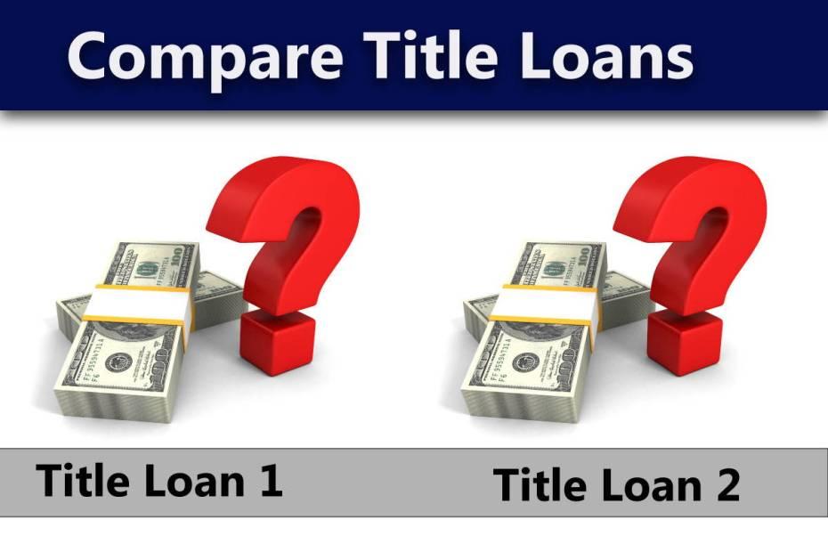 Compare Title Loans