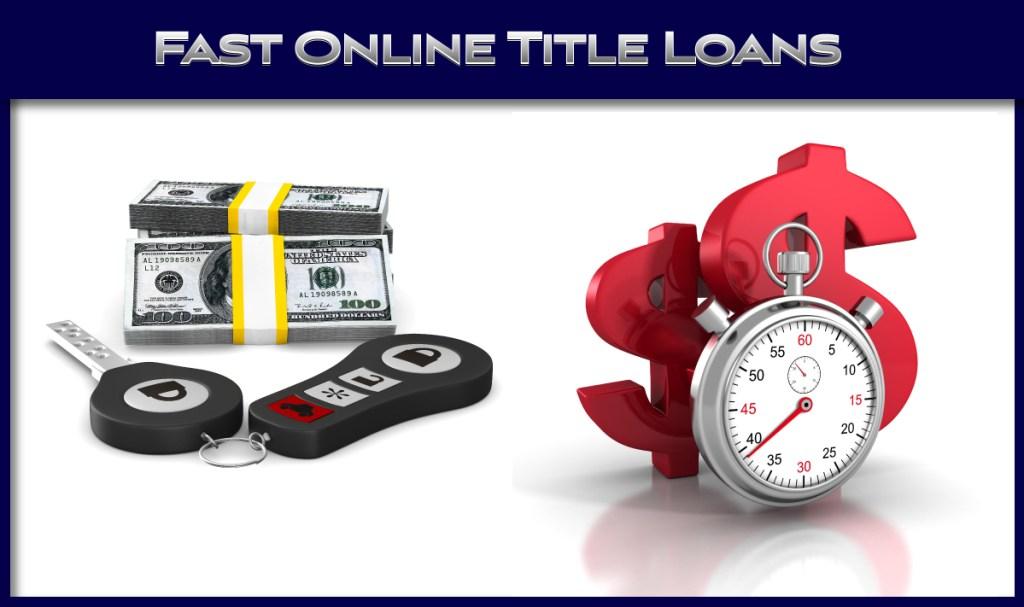 Fast Online Title Loans