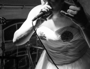 Frietrock 2015 – 600€ for charity (I don't usually go on stage in a wedding dress)