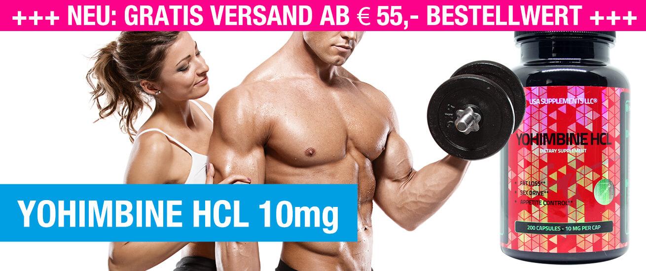 Yohimbine HCL 10mg kaufen
