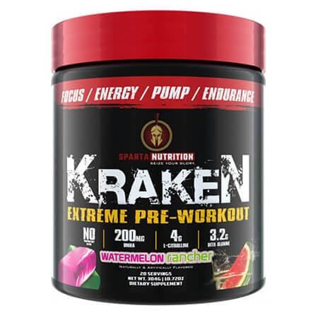 Sparta Nutrition Kraken, kraken booster, booster kraken, sparta nutrition kraken, kraken pre workout, kraken sparta nutrition, sparta kraken,