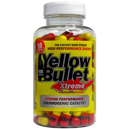 Xtreme Hard Rock Supplements Yellow Bullet, Yellow Bullet Xtreme Hard Rock Supplements
