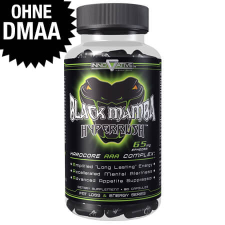 Black Mamba Innovative Labs without DMAA Fat Burner / Black Mamba >