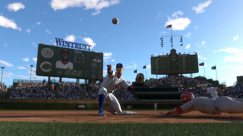 MLB The Show 20 Gameplay Trailer Slides In