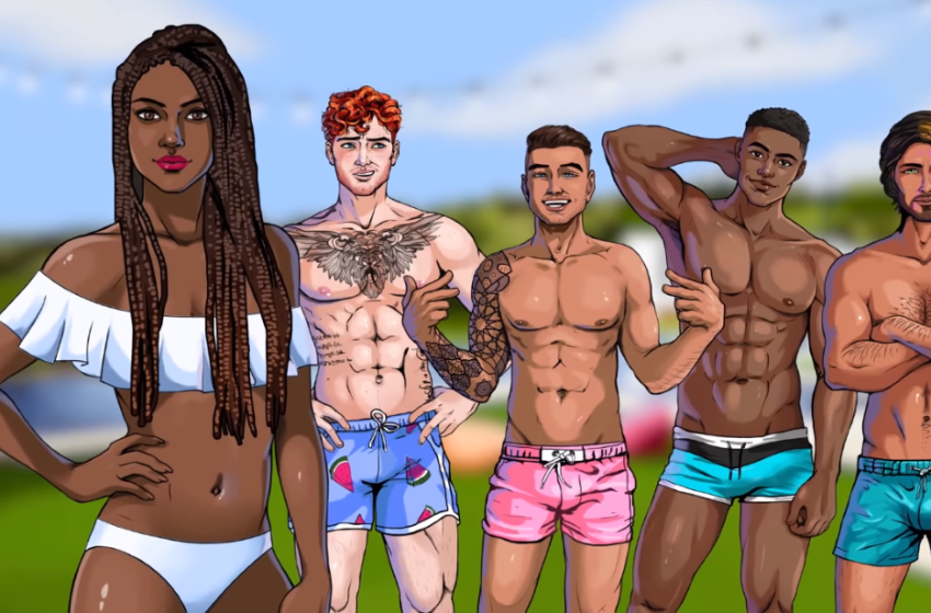 Is the Love Island TV show faithful to the mobile game?