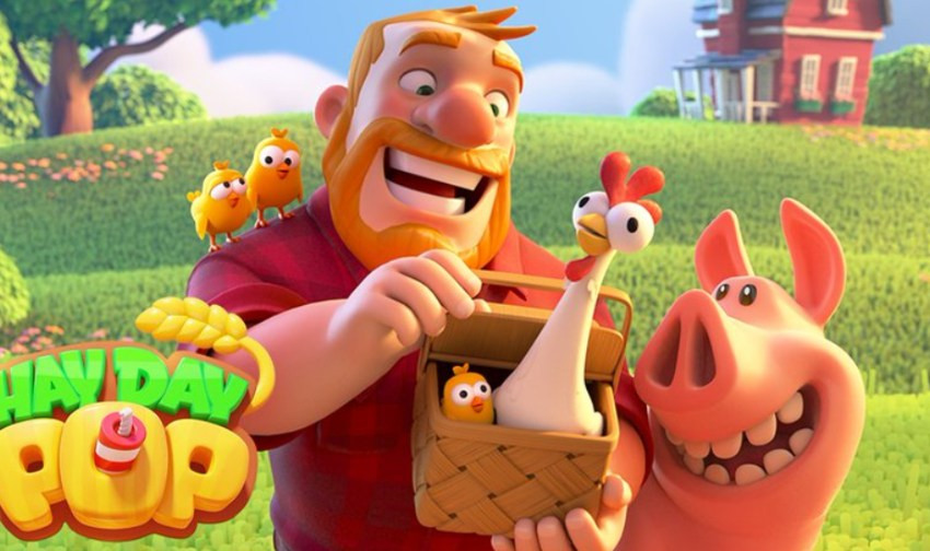 Hay Day Pop, Supercell's latest game, soft-launches for iOS and Android