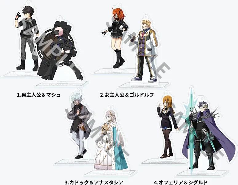 Fate/Grand Order バトルキャラ風アクリルスタンド