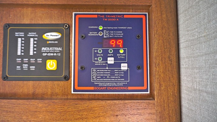 Rv Battery Monitor Panel : Off grid rv solar review for boondocking dry camping