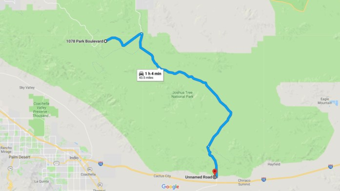 Free BLM Camping Near Joshua Tree National Park - Campsite Review