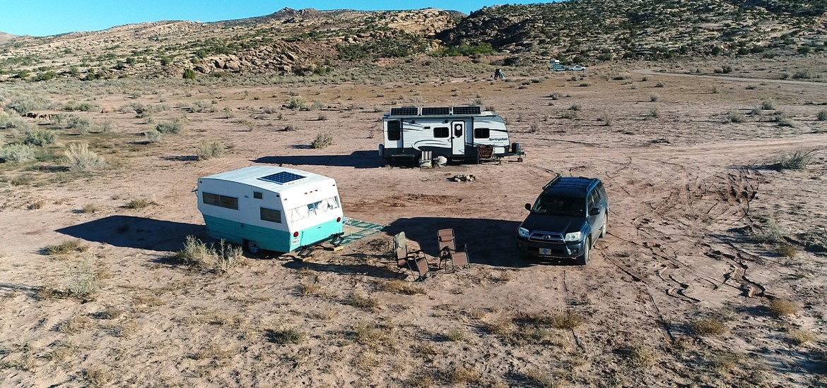 free camping near arches national park
