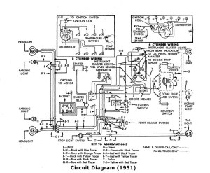 Looking for 51 F1 wiring schematic  Ford Truck