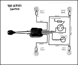 51 Ford Truck Turn signal wire diagram  Ford Truck