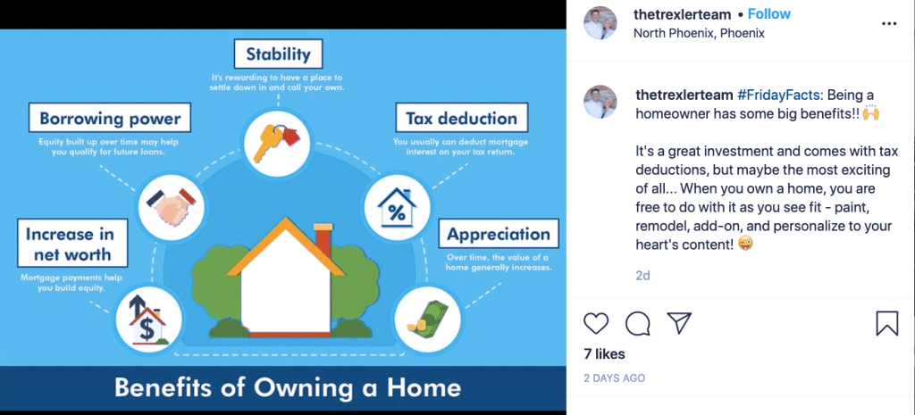 Instagram is full of lies from real estate agents telling you to buy a house