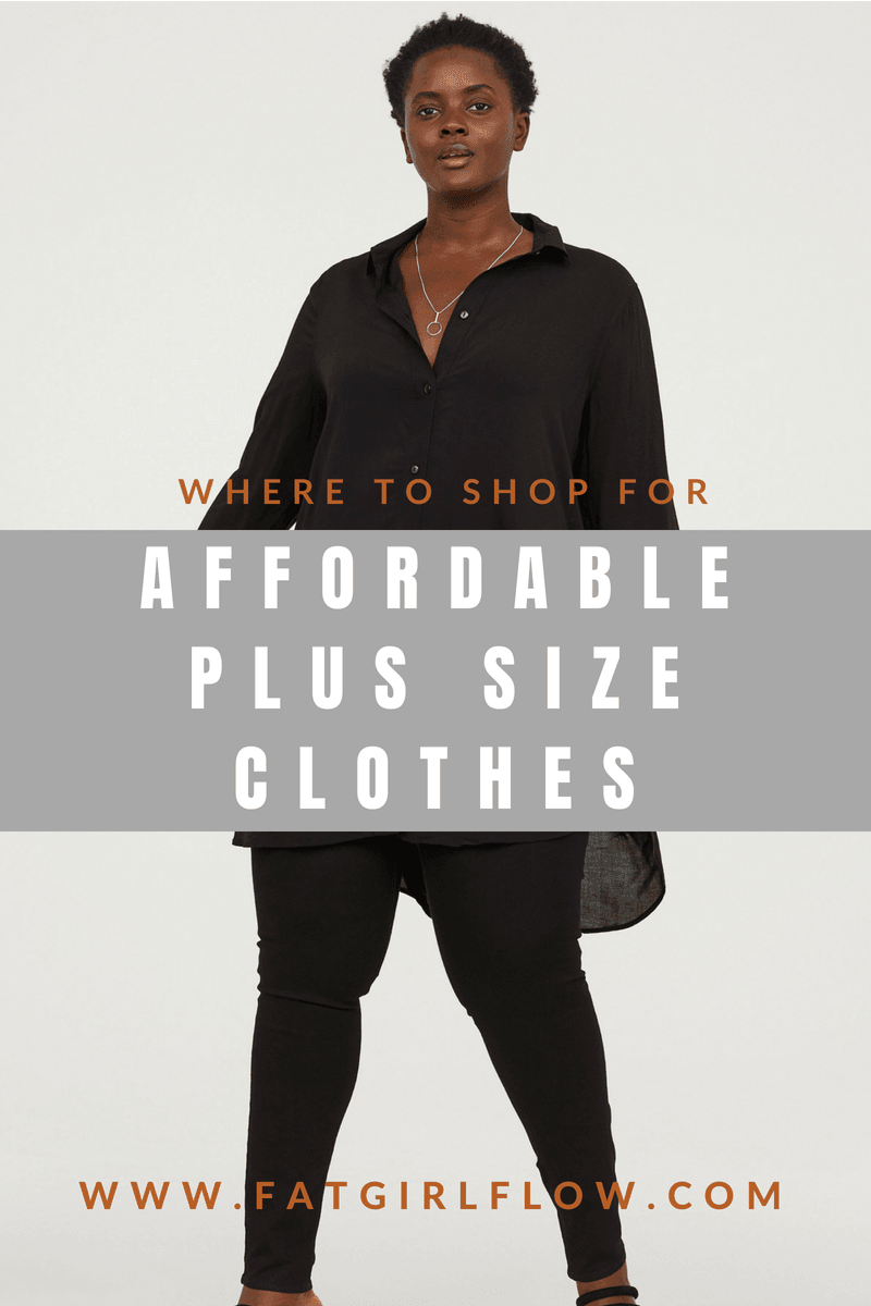 Cheap Plus Size Clothing Stores   FatGirlFlow com Cheap Plus Size Clothing For Budget Babes
