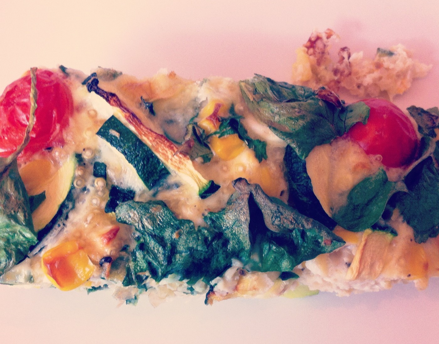 Adventures in Gluten-Free – Courgette, Sweetcorn and Quinoa Egg Bake