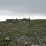 Cross Fell's cross shelter.