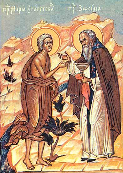 Heilige Maria von Ägypten