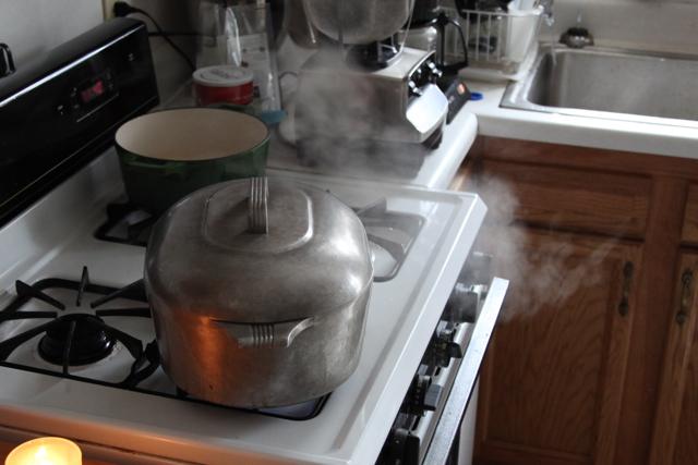 steamy kitchen