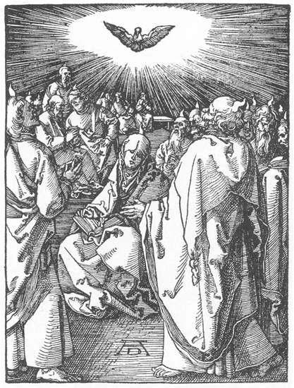 Descent of the Holy Spirit - Albrecht Duhrer