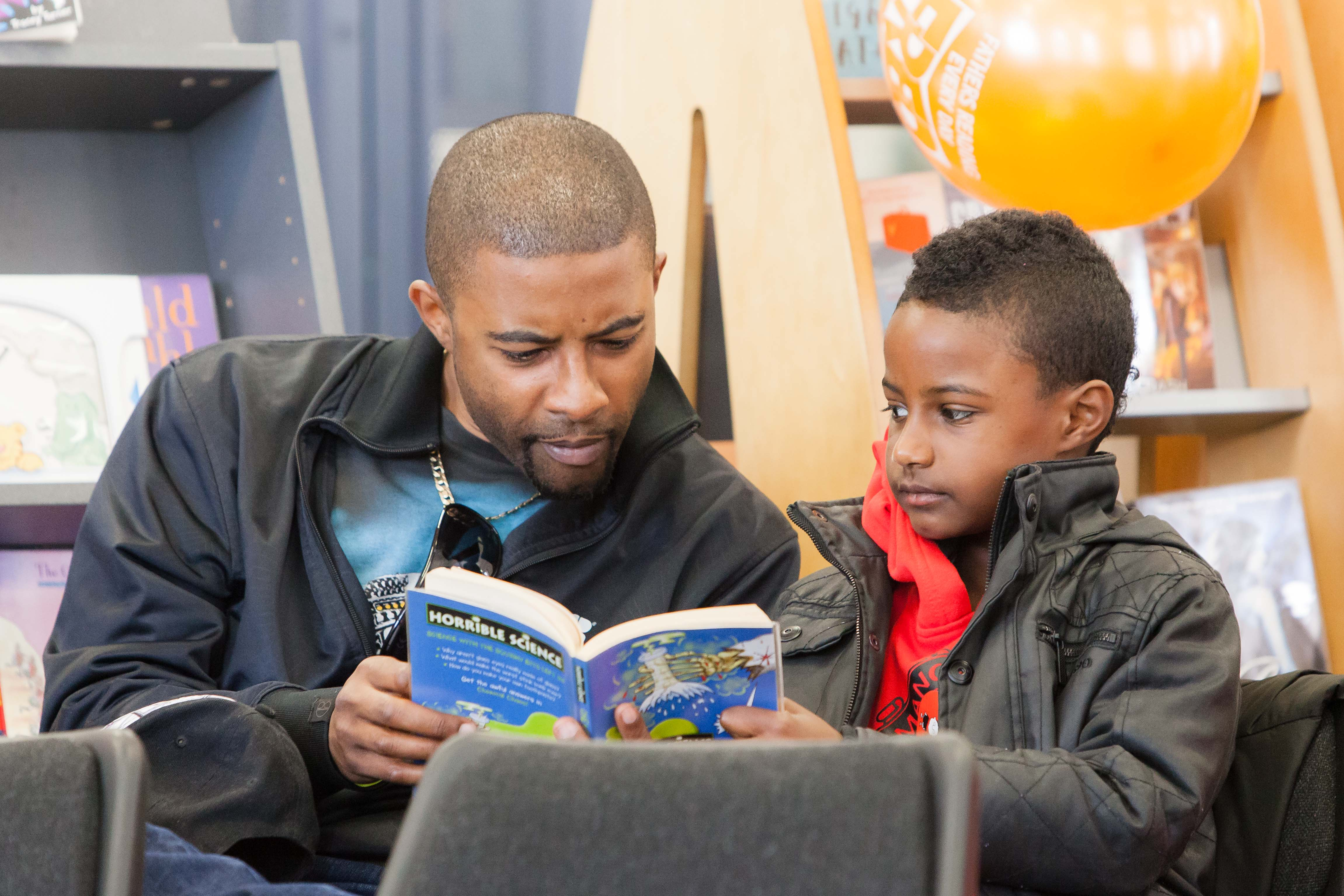Fathers Reading Every Day Training The Fatherhood Institute