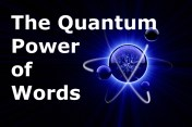 Quantum Power of Words