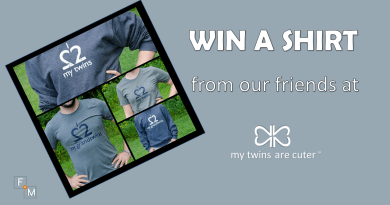 My Twins Are Cuter T-Shirt Giveaway!