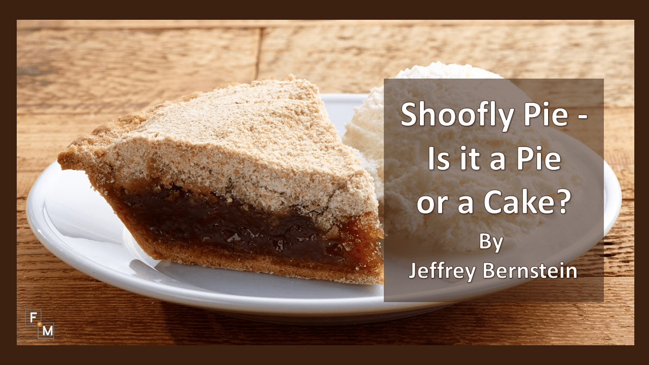 79a2380603e27 Shoofly Pie - Is it a Pie or a Cake? - Fathers of Multiples