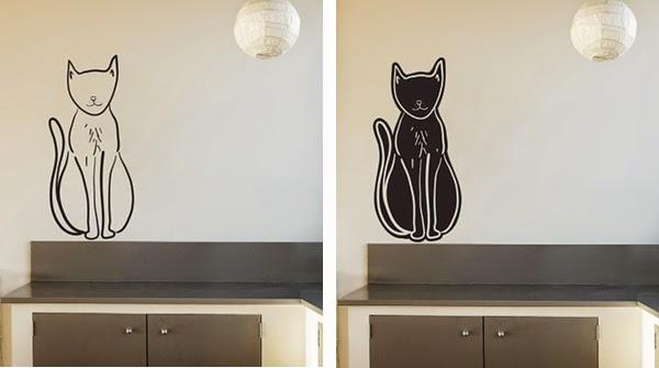 Vinyl decor stickers designed by Happiness is... for Stickaroo
