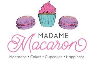 Madame Macaron Logo Design