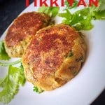 Aalo ki Tikkiyan - Spicy Potato Cutlets