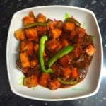 Sweet & Sour 'Chilli' Paneer - a delicious and easy Indo-Chinese recipe