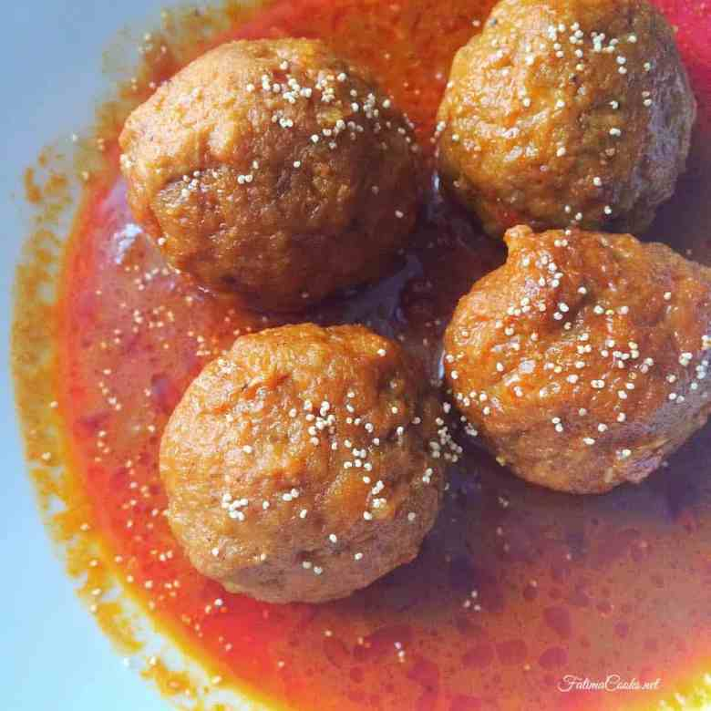 Traditional and Authentic Pakistani Chicken Kofta Curry