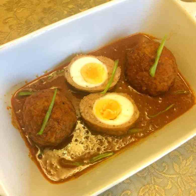 Nargisi Kofta - Pakistani Chicken Scotch Egg Curry