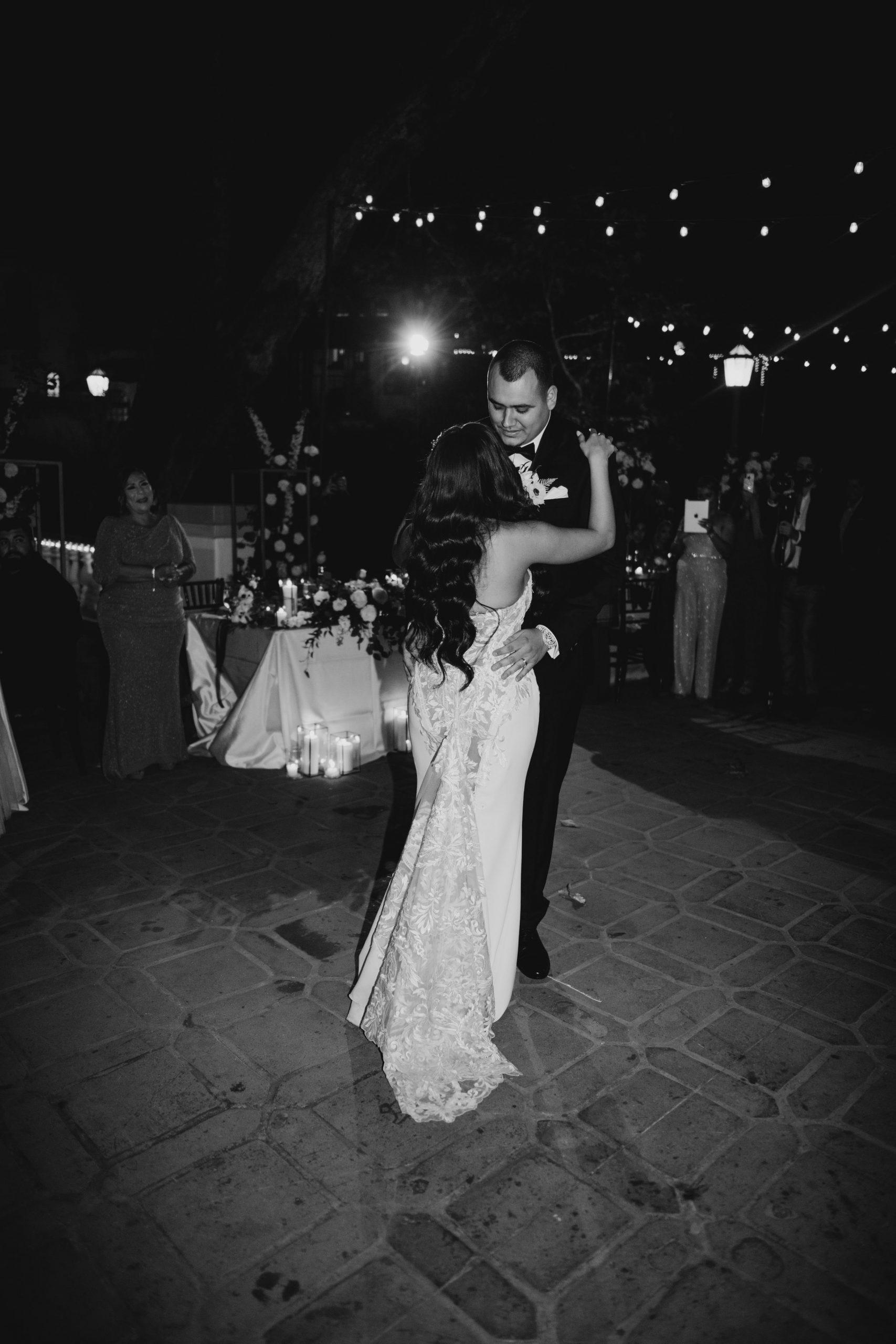 Rancho Las Lomas Wedding First Dance, image by Fatima Elreda Photo