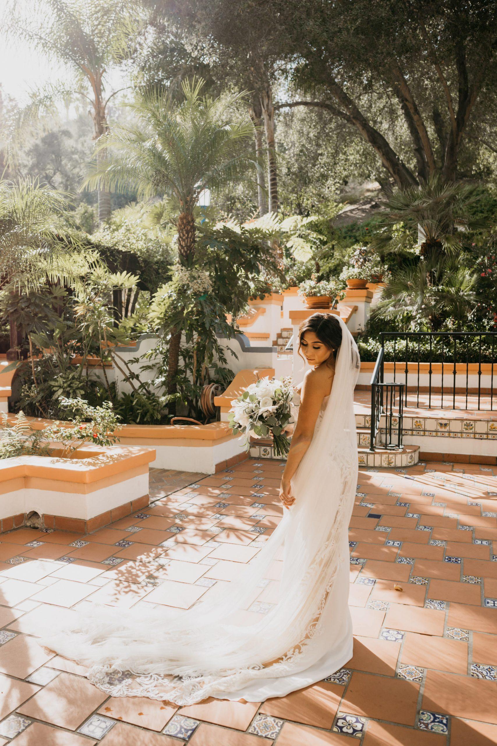 Rancho Las Lomas Bride Portrait, image by Fatima Elreda Photo