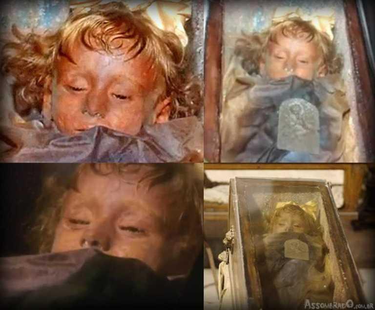 Mistério: Criança mumificada há 94 anos abre os olhos