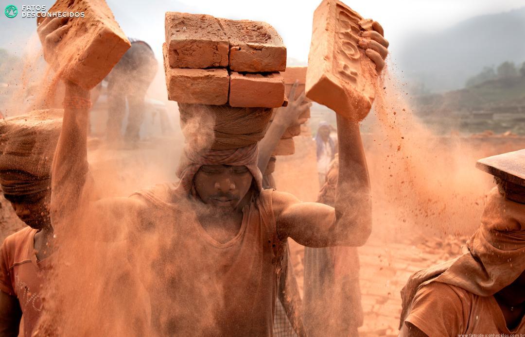 Os rostos da escravidão no século 21