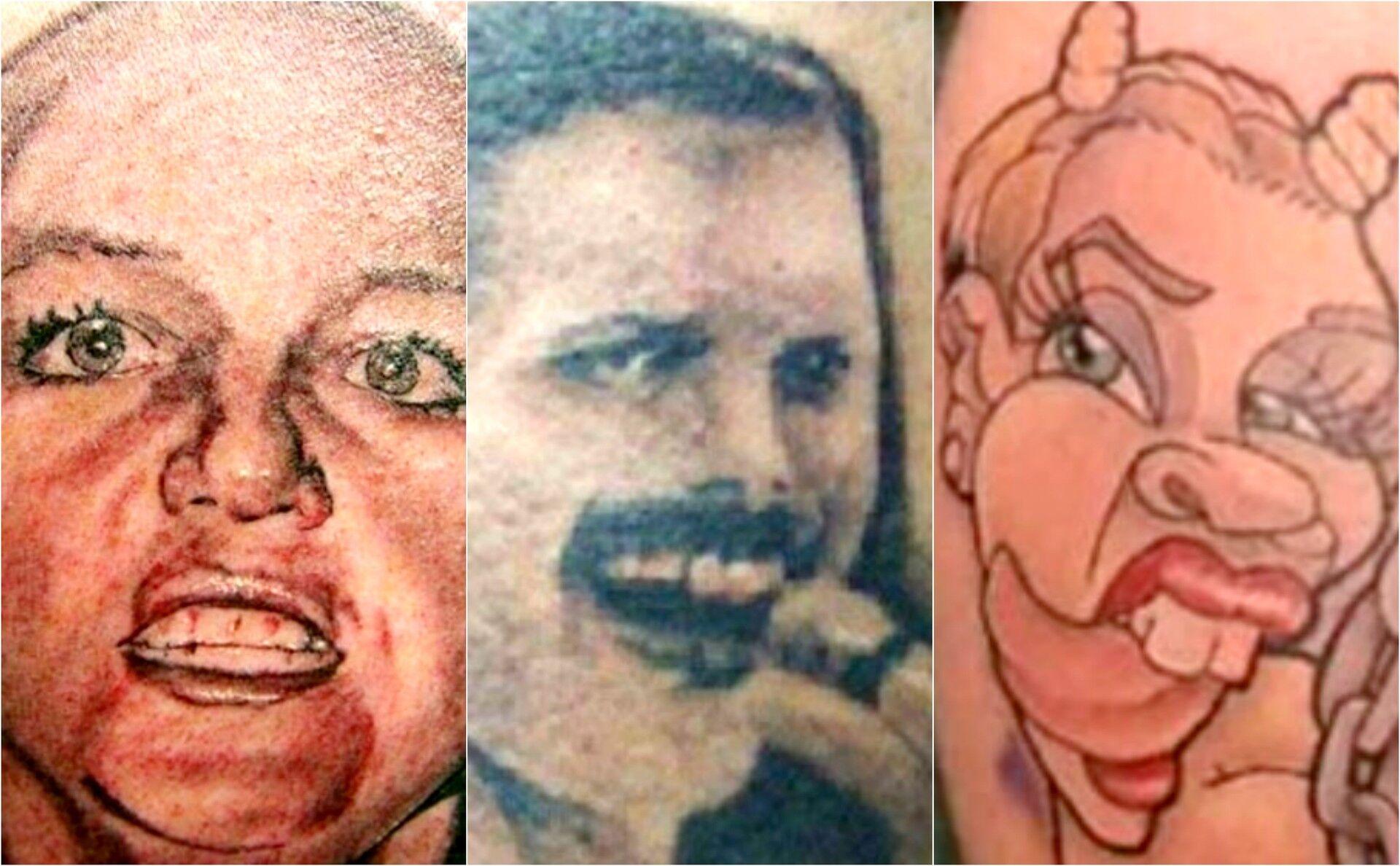 Confira 10 Tatuagens que deram MUITO errado!