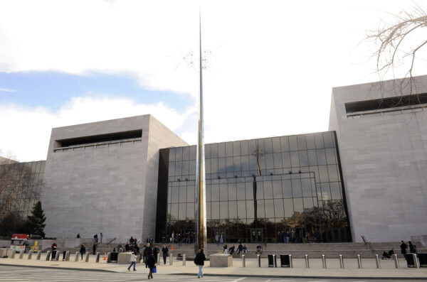 The Smithsonian's National Air and Space Museum is seen in Washington on February 20, 2011.    UPI/Roger L. Wollenberg