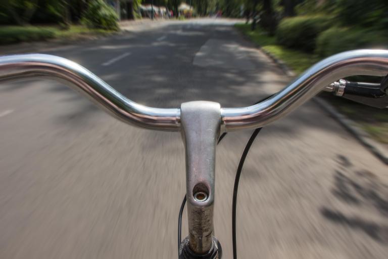 Você pode andar em qualquer bicicleta do mundo, menos nessa