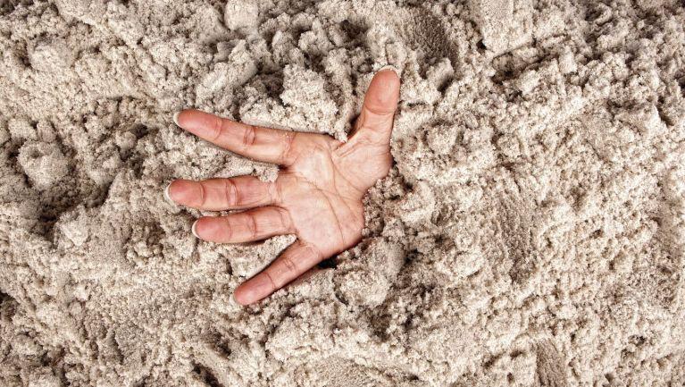 A famosa 'areia movediça' realmente existe?
