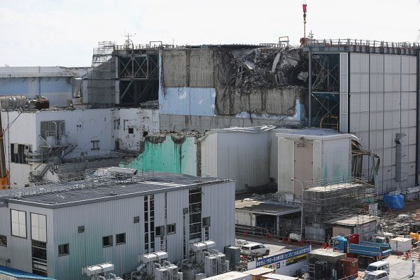 Workers continue the decontamination and reconstruction process at the Tokyo Electric Power Co.'s embattled Fukushima Daiichi nuclear power plant on February 24, 2016 in Okuma, Japan. March 11, 2016 marks the fifth anniversary of the magnitude 9.0 earthquake and tsunami which claimed the lives of 15,894, and the subsequent damage to the reactors at TEPCO's Fukushima Daiichi Nuclear Power Plant causing the nuclear disaster which still forces 99,750 people to live as evacuees away from contaminated areas.
