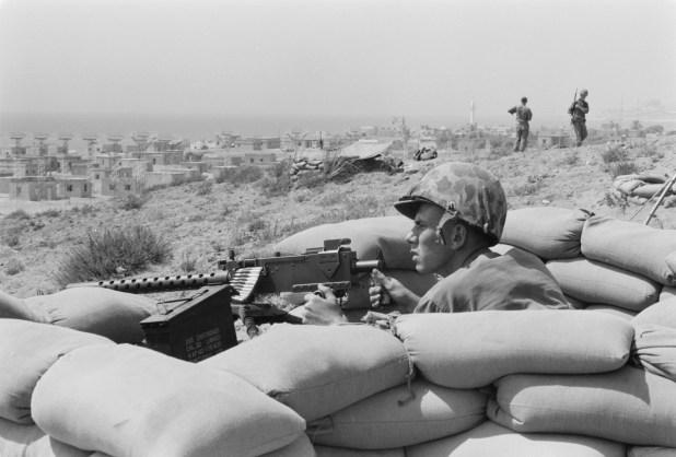 Foxhole_-_Lebanon_-_Beirut_-_July_1958