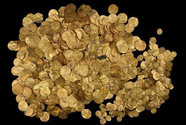 6 valiosos tesouros antigos já encontrados