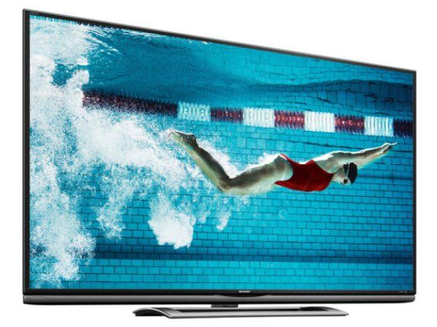 SHARP(R) UNVEILS AQUOS(R) ULTRA HD LED TV. (PRNewsFoto/Sharp Electronics Corporation)