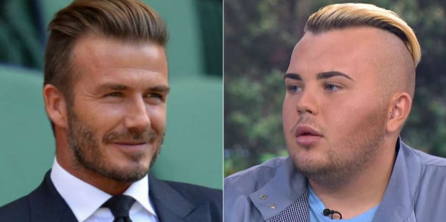 Este homem gastou £20 mil para ficar parecido com David Beckham